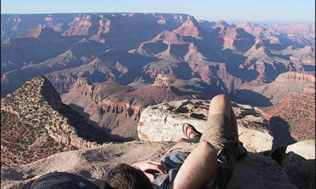 Utsikt over Grand Canyon. Foto: Petter Tofte Foto: Petter Tofte