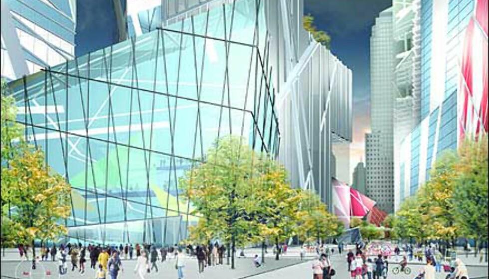 Libeskinds Wedge of Light - en plass til minne om ofrene og hendelsen 11. september 2001. Foto: Ikke bruk