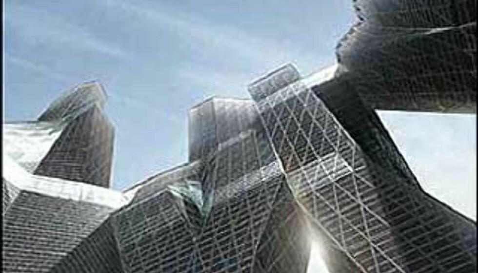 Forkastet forslag fra United Architects. Foto: Ikke bruk