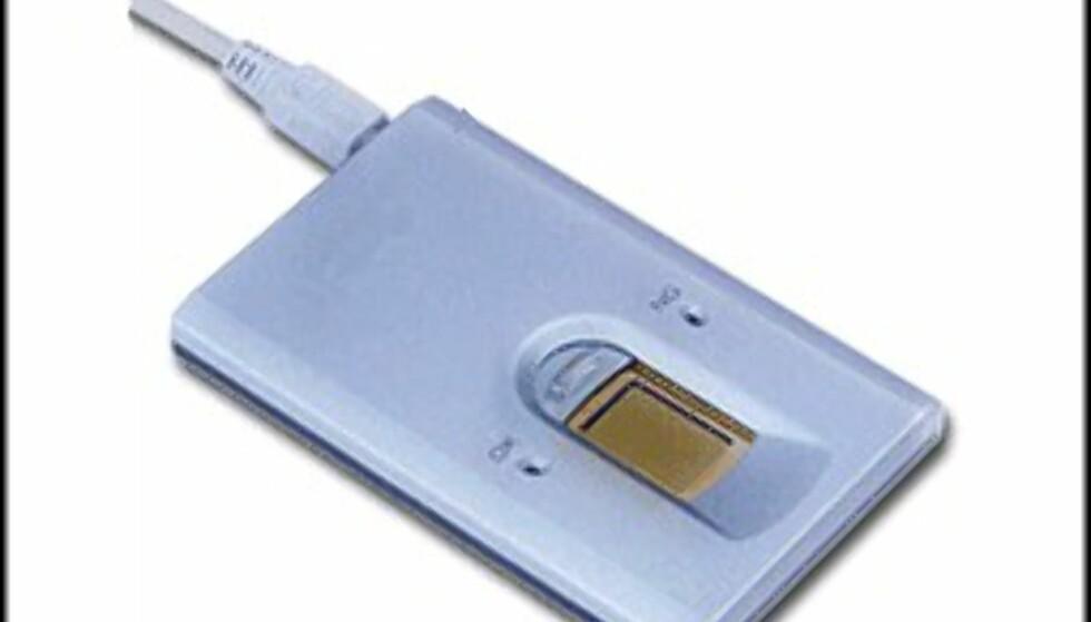Sonys fingeravtrykkscanner.