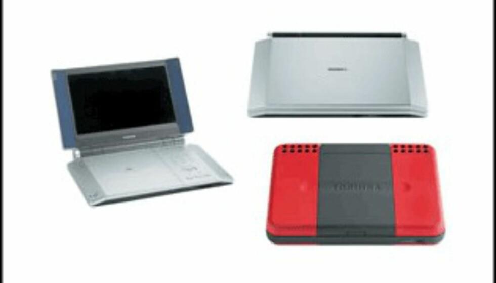 <center>Toshiba SD-1200 og SD-P2500.