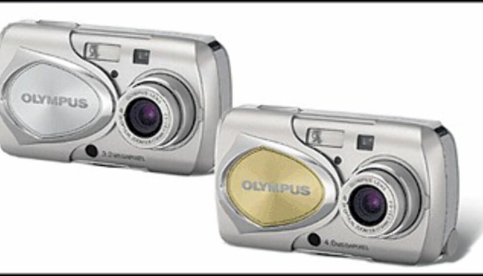 <center>Olympus Stylus 300 og Stylus 400.