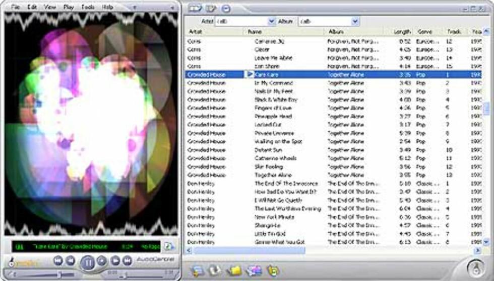 AudioCentral Player minner mye om RealOne. Men den er langt raskere, og håndterer blant annet OGG Vorbis-formatet.