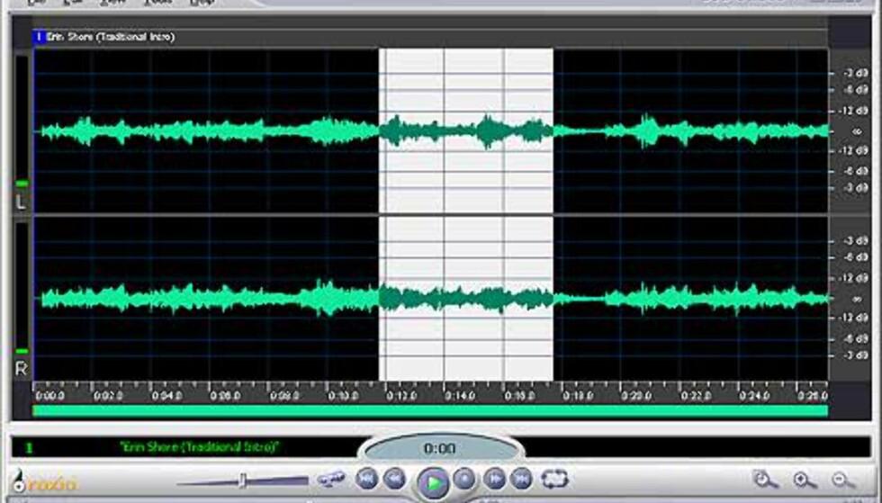 Gjennom AudioCentral kan man redigere MP3, WMA og OGG-filer direkte.