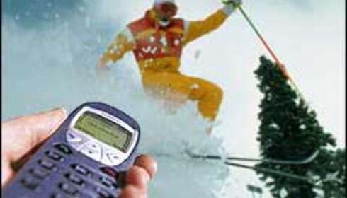 Du kan bestille og betale heiskort via mobil flere steder.