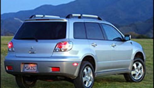 Ny SUV fra Mitsubishi - Outlander
