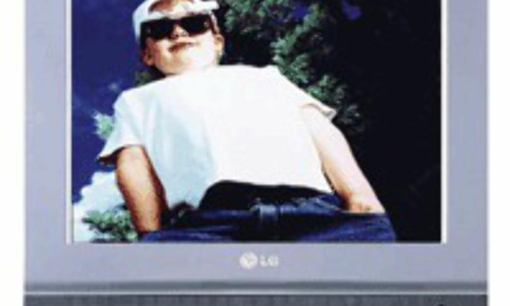 LCD-TV på 15 tommer fra LG.