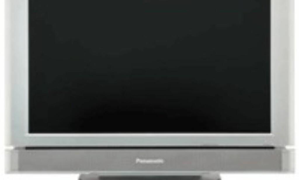 Widescreen-modell på 22 tommer fra Panasonic.