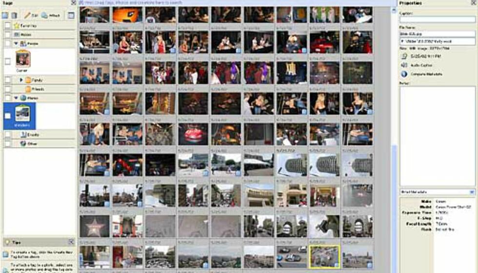 Alle bildene sortert kronologisk. Klikk for større utgave.