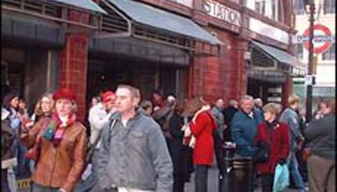 Covent Garden er like folksomt som alltid. Foto: Stine Okkelmo Foto: Stine Okkelmo