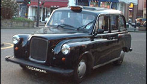 Mange velger å holde seg til black cabs. Foto: Stine Okkelmo Foto: Stine Okkelmo