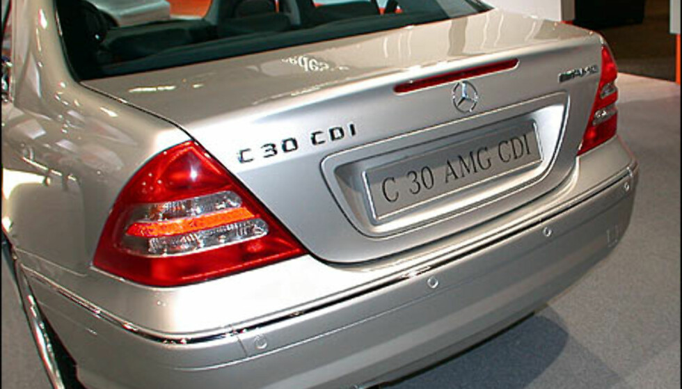 Mercedes C30 CDI AMG.