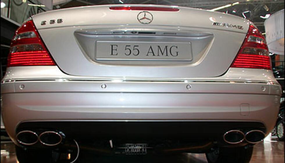 Mercedes-Benz E55 AMG.