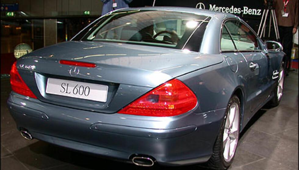 Mercedes-Benz SL600.