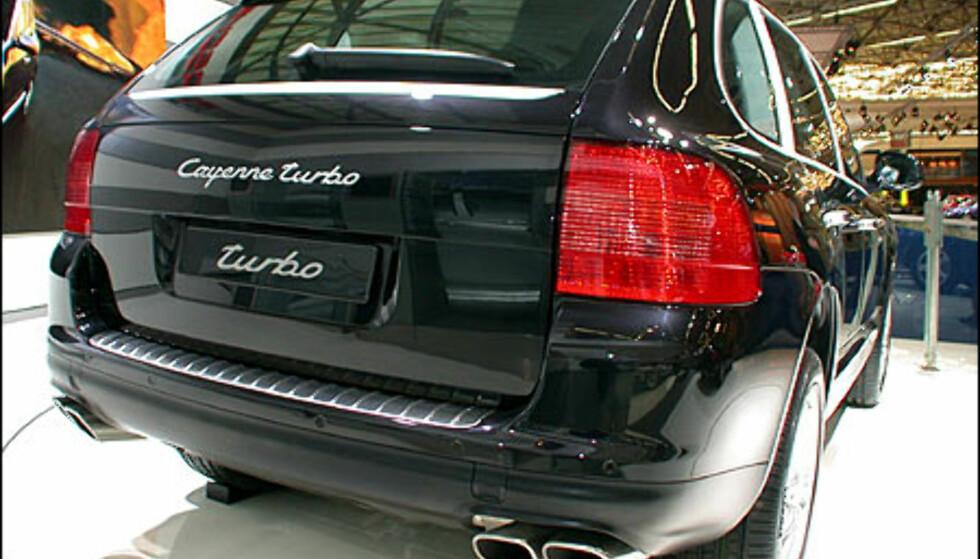 Porsche Cayenne Turbo.