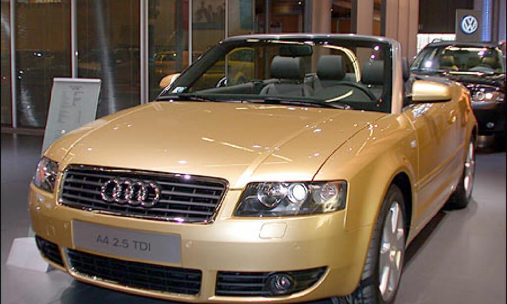 Audi A4 2.5 TDI kabriolet.