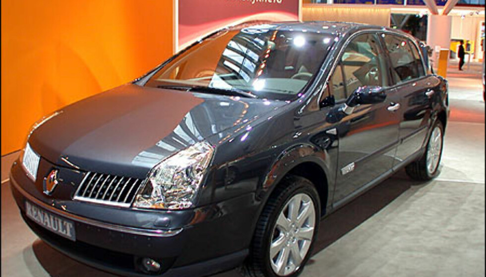Renault Vel Satis.