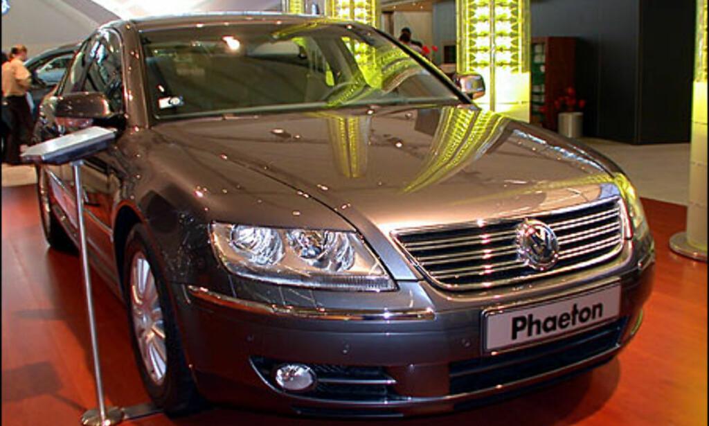 VW Phaeton.