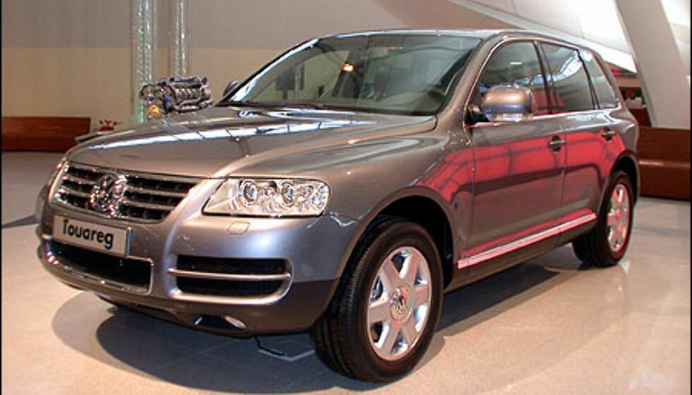 VW Touareg.