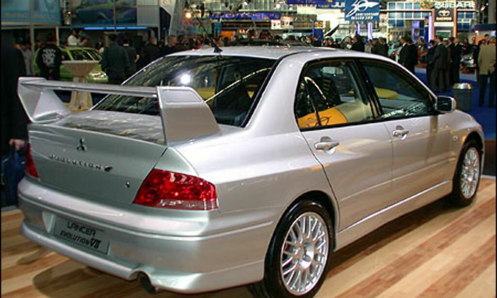 Mitsubishi Lancer Evolution VII.