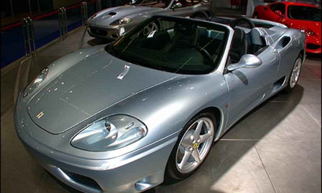 Ferrari 360 Spider.