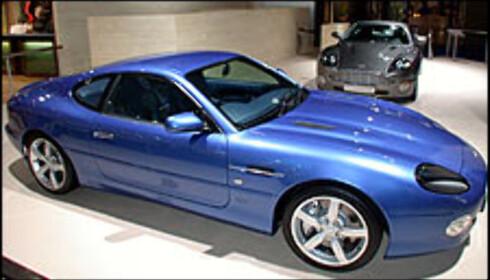 Aston Martin DB7 GT.