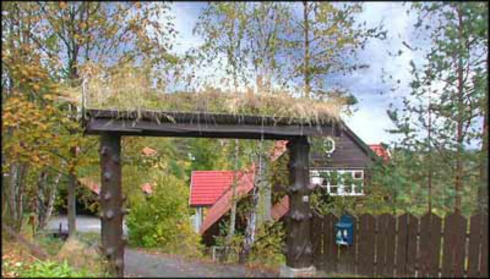 """""""Hytte"""" på Holmenkollen for 13,5 millioner kroner (Eiendomsmegler 1)."""