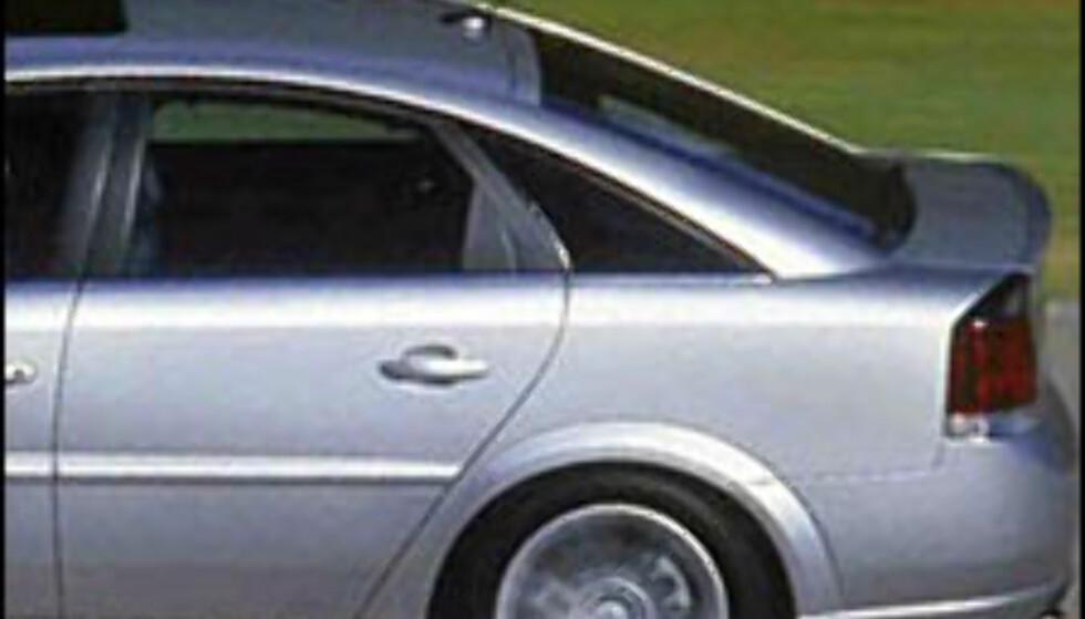 Turbo i bensin-Vectra