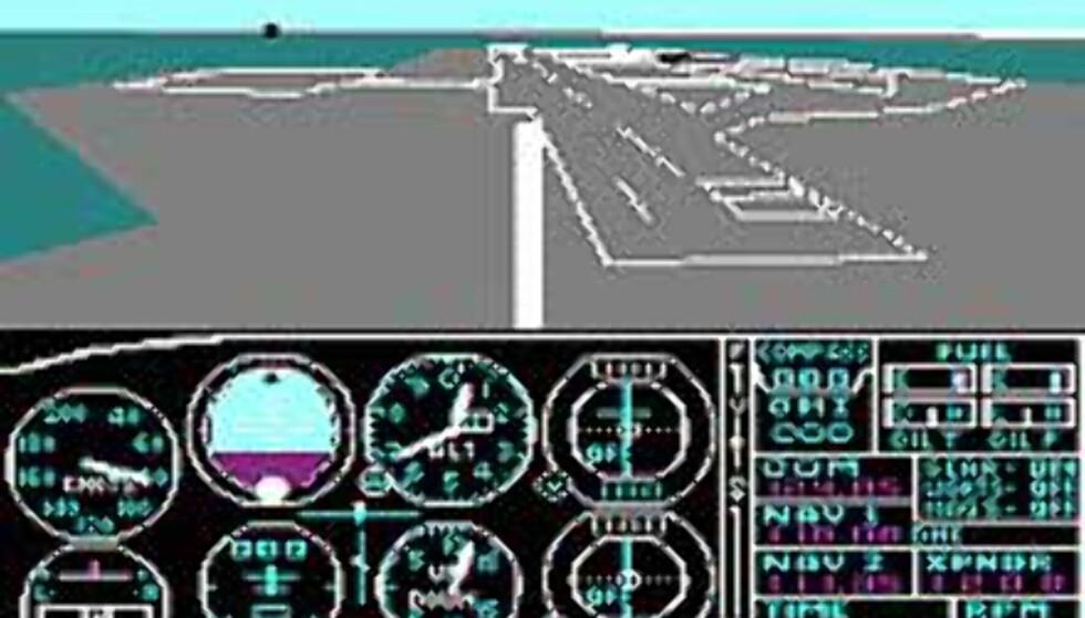 Flight Simulator for 20 år siden