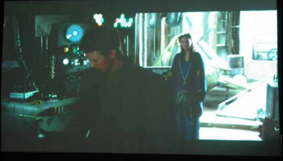 Scene fra Star Wars2: Klonene Angriper