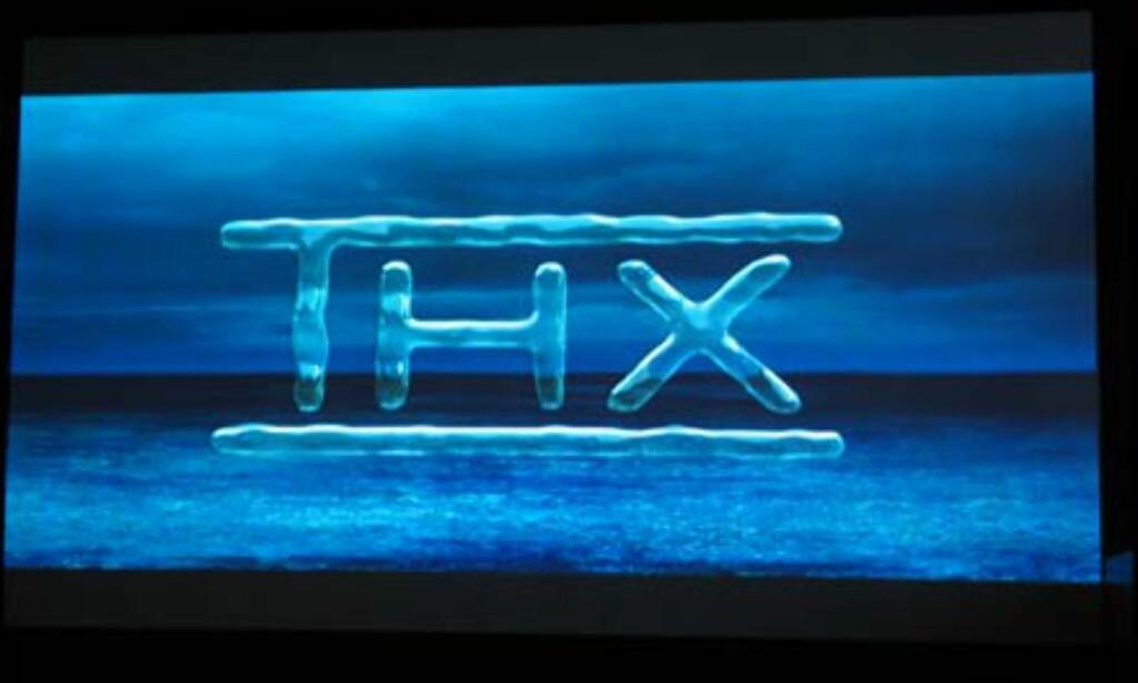 Og når THX logoen vises er det bare å nyte ekte 7.1