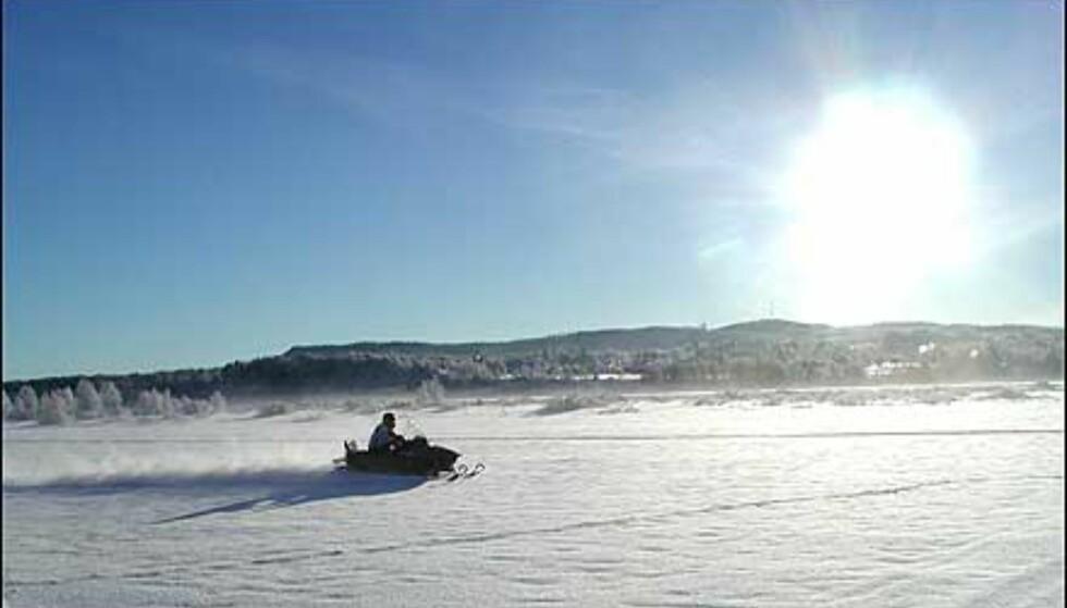 Bilder: Iskaldt eventyr i svenske fjell