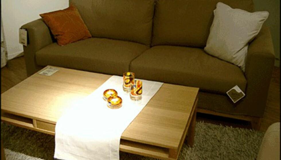 Sofaen Straight koster bare 3.990 kroner. Fås hos Skeidar.