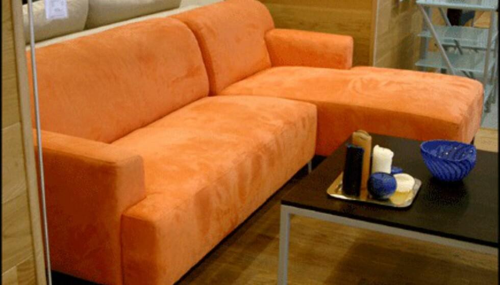 Den fargerike sjeselongen Firenze koster 11.475 kroner hos Bolia.com.