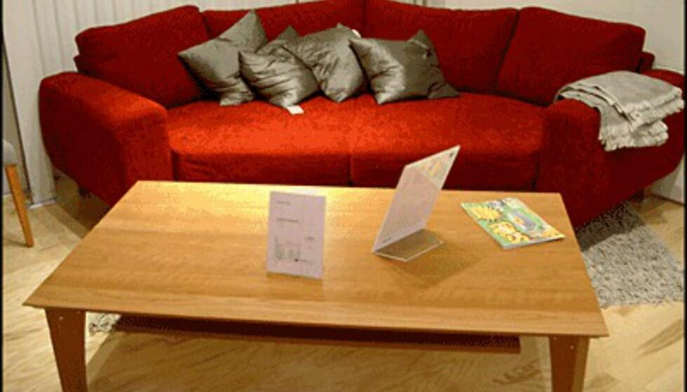 Sofaen Indivi fra Club 8 er stor og forseggjort. Den koster 24.395 kroner. Klikk deg videre for å se billigere designmøbler. (Alle foto: Dag Yngve Dahle)