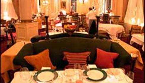 Annen Etage i Oslo var den første restauranten i byen som fikk stjerne i Michelinguiden. Foto: Karoline