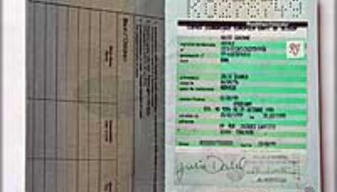 Nye pass må kunne leses i maskin, om du skal kunne reise inn i USA uten visum.