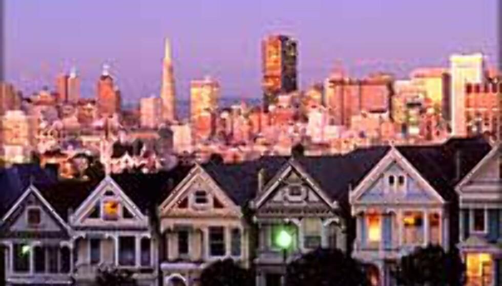 Fly og bil til San Francisco?