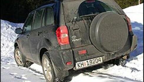 DIESEL: Toyota RAV4 er nå også tilgjengelig med diesel.