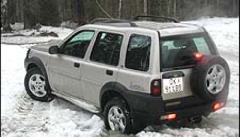 5. Land Rover Freelander: Den gamle