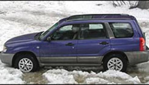 3. Subaru Forester: Den konservative