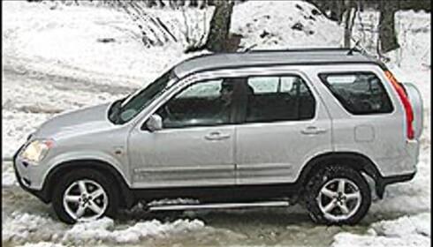1. Honda CR-V: Allrounderen