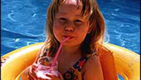 Barn liker å bade, men er ikke nødvendigvis trygge på dypt vann. Illustrasjonsfoto: Ingunn Aamodt Foto: Ingunn Aamodt