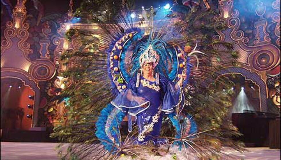 Dronningen av de eldre under fjorårets karneval. Foto: http://www.laspalmascarnaval.com/