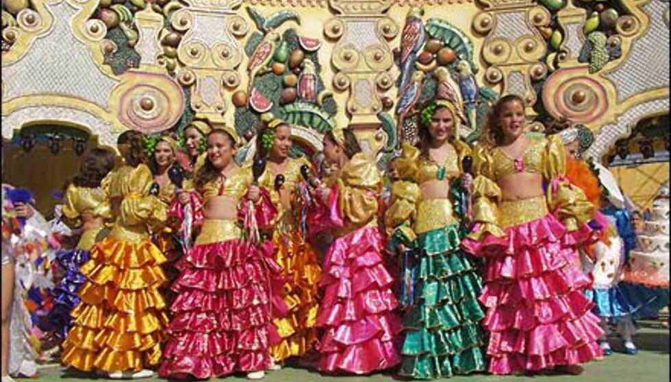 Barna er aktive under karnevalet på Gran Canaria. Foto: http://www.laspalmascarnaval.com/