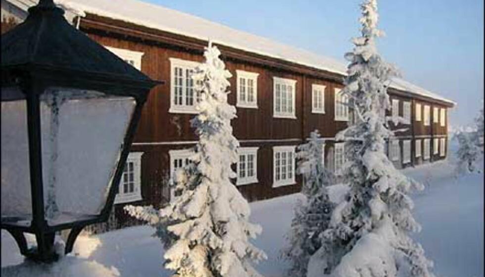 Tømmerbygninger av ny dato på Ilsetra. Foto: Ilsetra AS Foto: Ilsetra AS