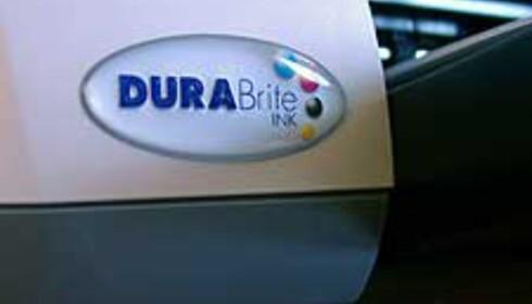 DURABrite-blekket sørger for god kvalitet på det meste av papirmedier