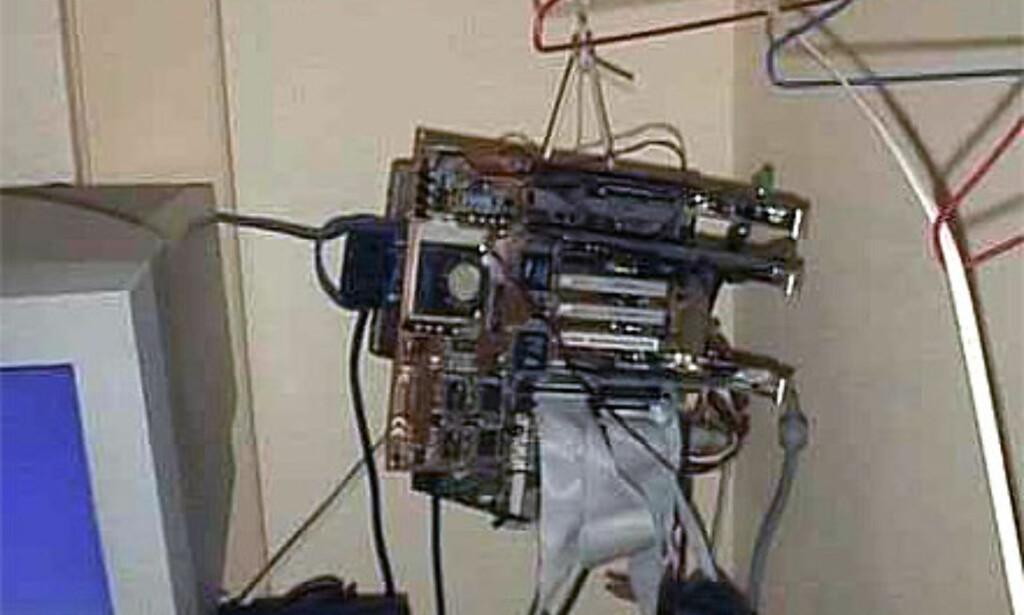 image: Hvem trenger PC-kabinett?