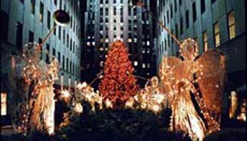 Juletreet på Rockefeller Center er vel det mest berømte i sitt slag i verden.