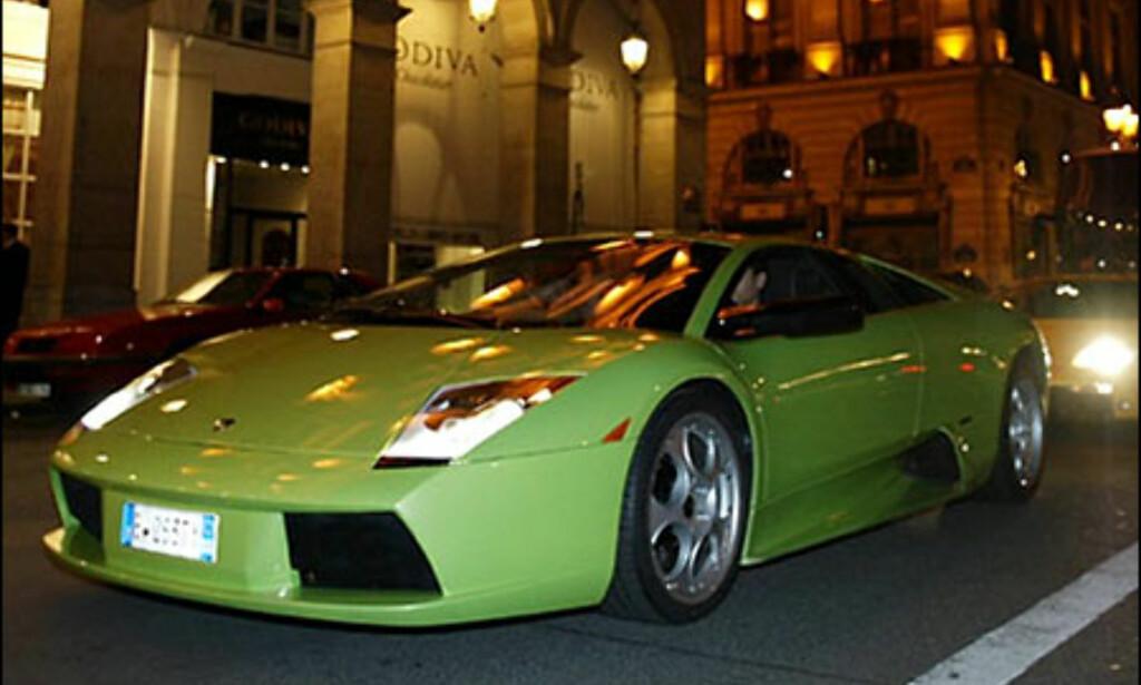 Lamborghini Murcielago. (FOTO: Birger Heigre)